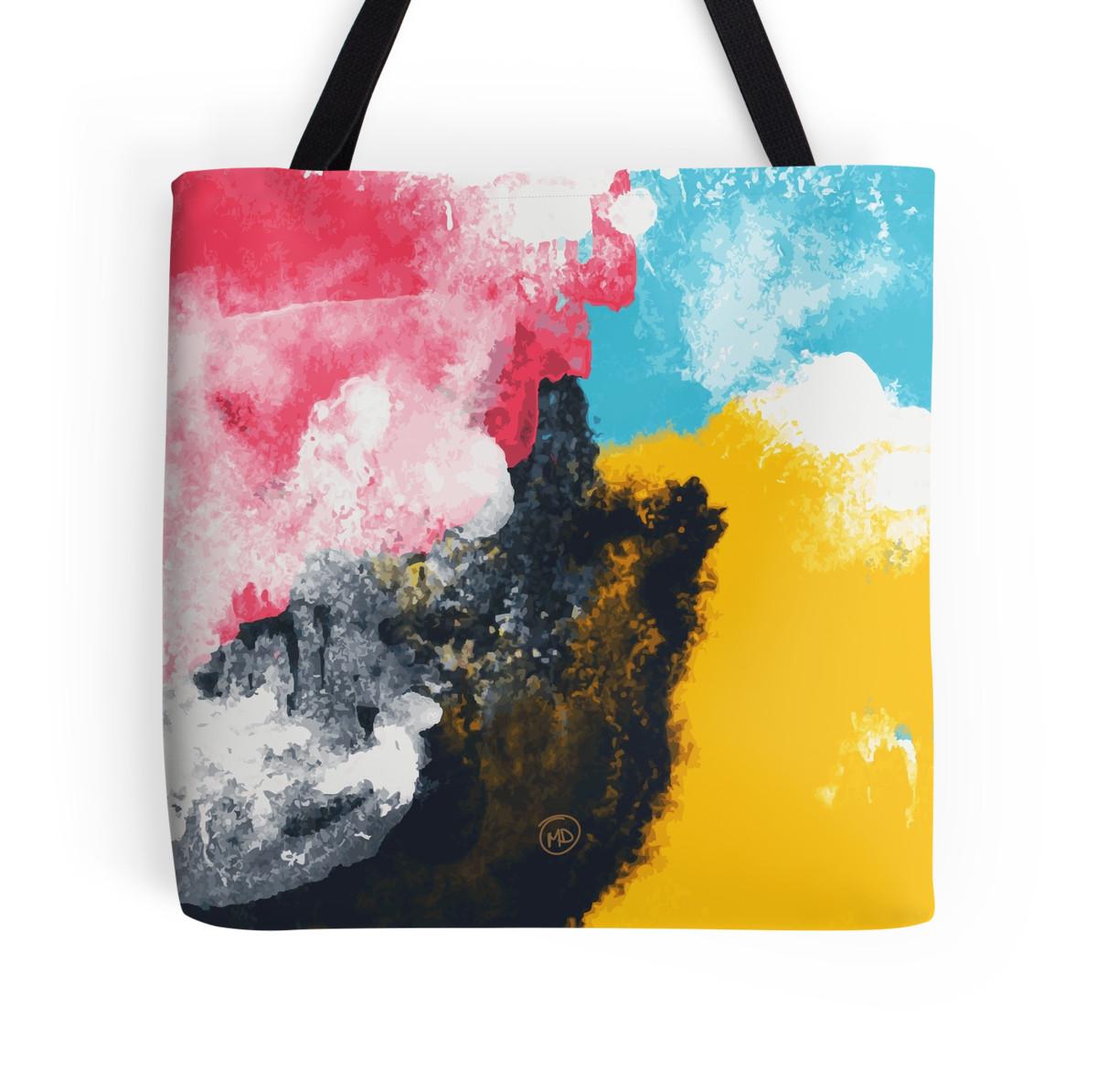 watercolour bag